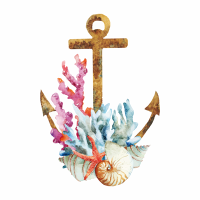 Anchor Watercolor - DeinDesign