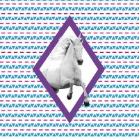 Einhorn – Ethno Collage - DeinDesign