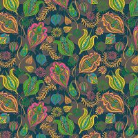 Folkish Foliage - Lotti Brown