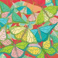 Tropical Butterflies - Lotti Brown