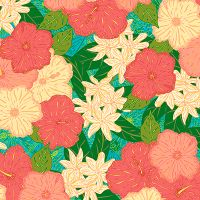 Tropical Flowers - Lotti Brown