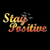 Stay Positive Black - Visca Barca