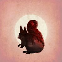 Red Squirrel - Jessica Broton