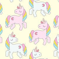 Unicorn pattern - DeinDesign