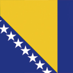 Flag of Bosnia and Herzegovina - DeinDesign