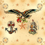 Sailors Tattoos - Otto Maurer Design