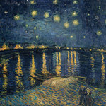 Starry Night over the Rhone / Sternennacht über der Rhone - Bridgeman Art