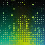 Stars Equalizer yellow/green - DeinDesign