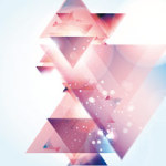 Galaxy of Triangles - DeinDesign