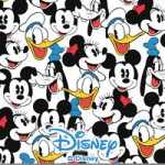 Mickey and friends pattern - Disney Mickey Mouse