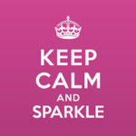 Keep calm and sparkle - Statement Collection