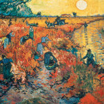 Red Vineyards at Arles / Roter Weinberg - Bridgeman Art