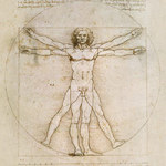 The Proportions of Man / Der vitruvianische Mensch - Bridgeman Art