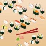 Yummy Sushi - DeinDesign