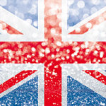 Union Jack Glitter - DeinDesign